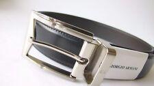 Authentic Giorgio Armani Reversible Leather Belt...large...new style...GA5160