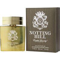 Notting Hill Cologne by English Laundry, 3.4 oz / 100 ml EDP Spray for Men NIB