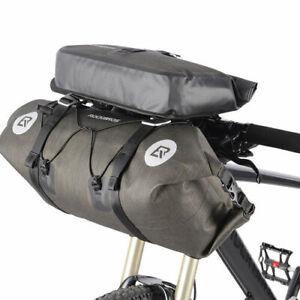 ROCKBROS Premium Bike-Packing Gravel Cycling Handlebar Roll Bag Set