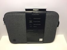 HEX MacBook Pro 15 inch Wool Sleave Pouch Case Charcoal Gray