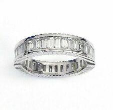 2.75 Carats t.w. Diamond Baguette Eternity Ring 950 Platinum G Color Diamonds