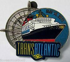 Disney Cruiseline Trans Atlantic May 2011 Proto Type PP Pin