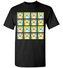 American Cocker Spaniel Cartoon Pop-Art T-Shirt, Men Women Youth Tank Short Long