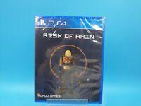 jeu video neuf sony ps4 neuf USA limited run #58 risk of rain