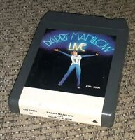 Barry Manilow LIVE 8-track Tape DOUBLE ALBUM cartridge VERY RARE! Classic rock