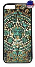 For Apple iPhone 7 / 7 plus Aztec Calendar Mayan Pattern Back Case Cover
