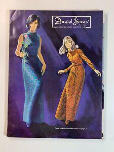 Vintage Catalogue Australia - David Jones Autumn and Winter 1968
