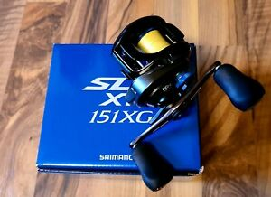 Shimano Curado SLX XT 151XG, Baitcast, selten benutzt
