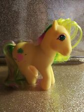 Vintage My Little Pony Figure G1Tooti tails Generation 1tropical pony 1984