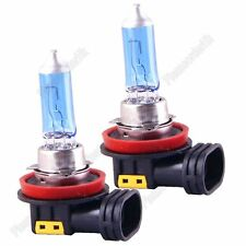 2x H8 Super White Car Headlight Lamp Fog Halogen Bulb Xenon Filled 35W 12360