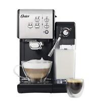 Oster Machine à Café Expresso Prima Latte II Pompe Italien 19 BAR Soin De Lait
