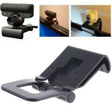 Black TV Clip for Sony PS3 Move Eye Camera Mount Holder Stand Adjustable USEFUL