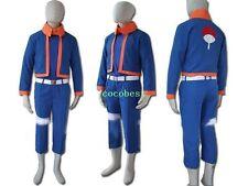 Naruto young  Obito Uchiha Cosplay Costume any size Vest Overcoat Pants