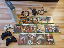 Xbox 360 mit 15 TOP-Spielen + 4 Controllern - Mass Effect, Fallout 3, Gears 1-3