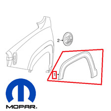 Renegade L4 15-17 Front Passenger Right Fender Flare Wheel Well Arch Molding OEM