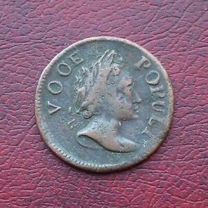 USA Voce Populi 1760 copper halfpenny