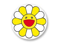 "Pin Button Badge Ø25mm 1"" Fleur Flower Kawaii Japan Murakami"