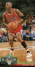 1993-94 LIMITED FLEER MICHAEL JORDAN NBA JAM SESSION #33 BASKETBALL CARD