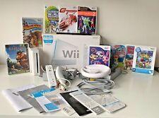 Huge Original Nintendo Wii Bundle - console, 10 games & lots of accessories