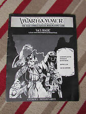 198083 GAMES WORKSHOP WARHAMMER THE MASS COMBAT FANTASY ROLE-PLAYING GAME VOL.2
