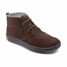Suede Wide Shoes with Laces for Boys