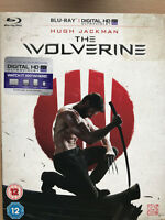 THE WOLVERINE ~ 2013 Marvel Universe Logan UK Blu-ray with Slipcover