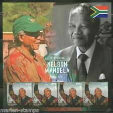 NEVIS  2014  NELSON MANDELA MEMORIAL  SHEET  II  MINT NH