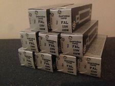 GE Projection Bulbs FAL Quartzline Lamp 120V 420W (Pack of 9)