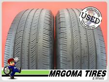2 MICHELIN PRIMACY MXV4 GREEN X M+S 235/60/18 USED TIRES PORSCHE 102T 2356018