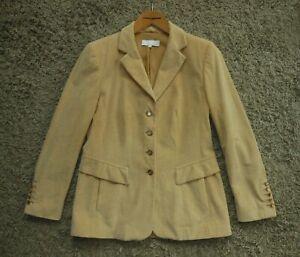 Womens Stunning Escada Cord Cotton-Cashmere Blazer Jacket - Size 40 / M or L