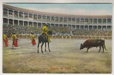 Sport postcard - Suerto de Vara - Bull Fighting - RP (A22)