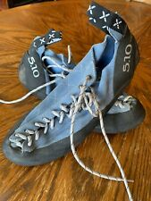 Five Ten 5.10 Stealth C4 Climbing Shoes Blue Men's 11.5 Eur 45 Excellent Cond.