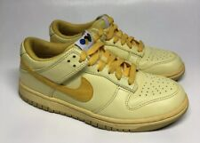 NIKE Zoom Dunks Low Sneakers Olympic Edition Womens 6 Yellow 337954-771