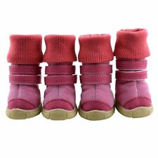 Pet Dog Winter Snow Boots Puppy Anti-slip Cotton Warm Shoes Sneakers Pet Booties