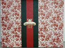 NEW GUCCI Gift Catalog 2015 Catalogue Coffee Table Hard Cover Book Bee