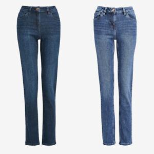 Ladies Next PETITE Slim Jeans Blue Sizes 6 - 18 CURRENT LINES