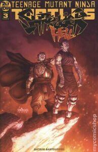 Teenage Mutant Ninja Turtles Shredder in Hell #3A Santolouco FN 2019 Stock Image