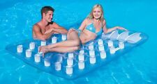 INFLATABLE DOUBLE SWIMMING POOL LILO LOUNGER FLOAT ISLAND