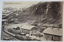 AK  BERGENSBANEN. Myrdal St., Norwegen, 1911
