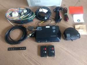 BMW E32, E34, E31 ALARM SYSTEM INSTALLATION KIT GENUINE BMW WITH 2 REMOTE, NEW