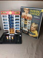 Vintage Toy Parking Garage & Lot