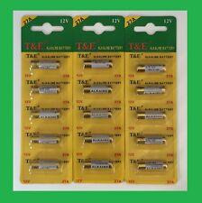 5 Pile alcaline A27 LR27 27A 27AE 12V alarme FIN 2023 3 lots acheté 4ème offert