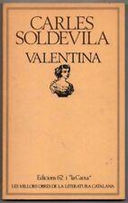 VALENTINA - CARLES SOLDEVILA - EN CATALAN