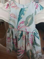 NEXT Satin Floral Dress 4-5 Years