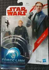 STAR WARS the last jedi figurine star wars GENERAL HUX Force Link neuf