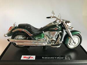 2000 Kawasaki Vulcan, grün, Maisto Motorrad Modell 1:18