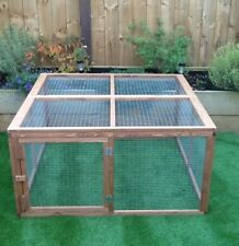 Delton Pets 4ft x 4ft Rabbit / Guinea Pig Run, With Optional Extensions.