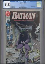 Batman #450 CGC 9.8 1990 DC Marv Wolfman Story Brief Origin of Joker : New Frame