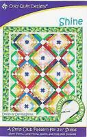 Shine Quilt Pattern - Cozy Quilt Designs