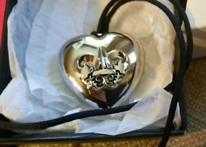 Outspoken Solid Perfume BY FERGIE Heart Pendant from AVON vintage QD
